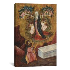 Chrisitan Saint Thomas Aquinas Receives the Sacred Belt from Virgin Mary Painting Print on Canvas