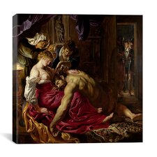 """Samson and Delilah"" Canvas Wall Art by Peter Paul Rubens"