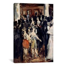 'Masked Ball at the Opera' by Edouard Manet Painting Print on Canvas