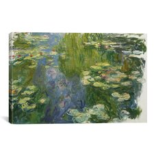 'Le Bassin Aux Nympheas' by Claude Monet Painting Print on Canvas