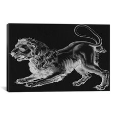 Astronomy and Space 'Leo (Lion) II' Painting Print on Canvas