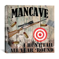 """Mancave IV"" Cancas Wall Art by Mindy Sommers"