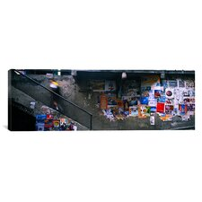 Panoramic Post Alley to Post Market, Seattle, Washington State Photographic Print on Canvas