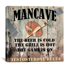 """Mancave I"" Cancas Wall Art by Mindy Sommers"
