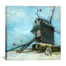 """Le Moulin de la Galette"" Canvas Wall Art by Vincent Van Gogh"