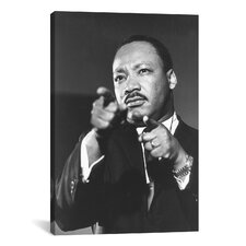 Political Martin Luther King Jr Portrait Photographic Print on Canvas