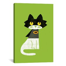 'Mark Batcat' by Budi Satria Kwan Graphic Art on Canvas