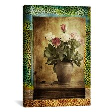 """Leopard Roses"" Photographic Art on Canvas Wall Art by Luz Graphics"