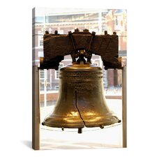 Political Liberty Bell Photographic Print on Canvas