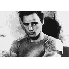 Movies Marlon Brando Photographic Print on Canvas