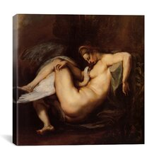 """Leda and the Swan"" Canvas Wall Art by Peter Paul Rubens"