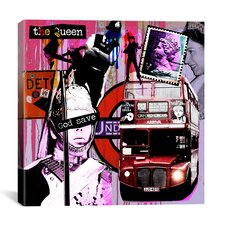 """London #3"" Graphic Art on Canvas by Luz Graphics"