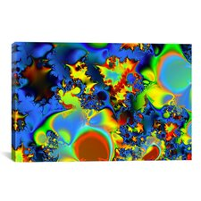 Digital Liquid Fuel Graphic Art on Canvas