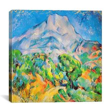 """La Montagne St. Victoire"" Canvas Wall Art by Paul Cezanne"