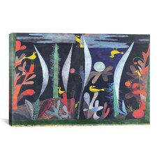 'Landscape with Yellow Birds' by Paul Klee Painting Print on Canvas