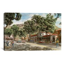 'Laguna Beach' by Stanton Manolakas Painting Print on Canvas