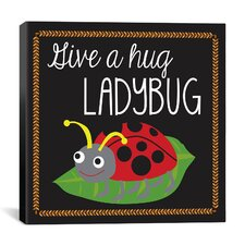 """Ladybug"" Canvas Wall Art by Erin Clark"
