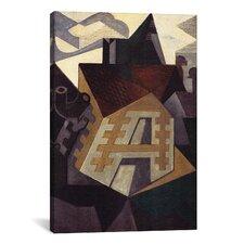 'Landschaft Bei Beaulieu' by Juan Gris Painting Print on Canvas