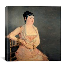 """Lady"" Canvas Wall Art by Edouard Manet"