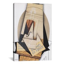 'Komposition Mit Violine' by Juan Gris Painting Print on Canvas