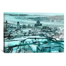 Quebec City, Lower Town Canada #3 Photographic Print on Canvas