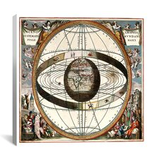 Ptolemaic System Canvas Wall Art