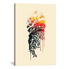 'Painted Tyger' by Budi Satria Kwan Painting Print on Canvas