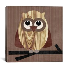 """Owl 2"" Canvas Wall Art by Erin Clark"