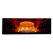 Panoramic Carnegie Hall, New York City Photographic Print on Canvas