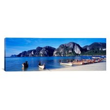 Panoramic Phi Phi Islands Thailand Photographic Print on Canvas