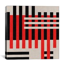 Modern Art Intersection Graphic Art on Canvas