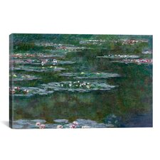 'Nympheas 1904' by Claude Monet Painting Print on Canvas