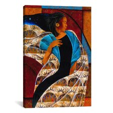 'Nyam' by Keith Mallett Painting Print on Canvas