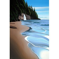 'Mystic Beach' by Ron Parker Painting Print on Canvas