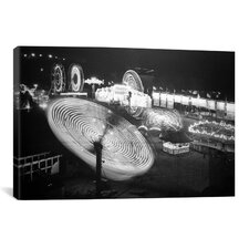 Photography 'Nebraska State Fair Rides' Photographic Print on Canvas