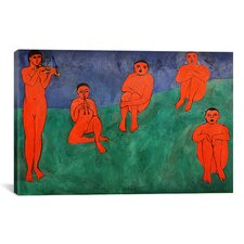 'Music' by Henri Matisse Painting Print on Canvas