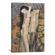 'Nagender Kummer ll (Gnawing Grief)' by Gustav Klimt Painting Print on Canvas