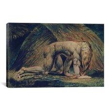 'Nabuchodonosor 1795' by William Blake Painting Print on Canvas