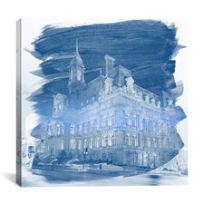 Montreal, Canada City Hall Photographic Print on Canvas