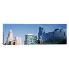 Panoramic Sprint Center, Kansas City, Missouri Photographic Print on Canvas