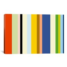 'New York Soho Striped' Graphic Art on Canvas