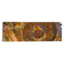 Panoramic Rila Monastery, Bulgaria Photographic Print on Canvas