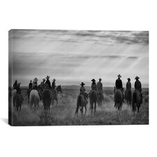 Riding Out by Dan Ballard Photographic Print on Canvas