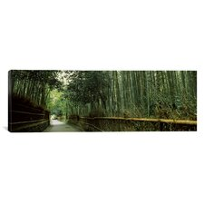 Panoramic Arashiyama, Honshu, Japan Photographic Print on Canvas