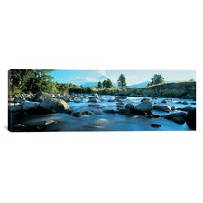 Panoramic Mount Taranaki, Taranaki, North Island New Zealand Photographic Print on Canvas