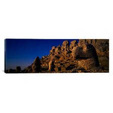 Panoramic Mount Nemrut, Cappadocia, Turkey Photographic Print on Canvas