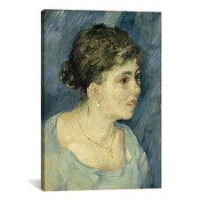 'Portrait of a Prostitute' by Vincent van Gogh Painting Print on Canvas