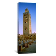 Panoramic Koutoubia Mosque, Marrakech, Morocco Photographic Print on Canvas
