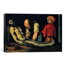 'Preparation for The Funeral (The Autopsy)' by Paul Cezanne Painting Print on Canvas