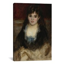 'Portrait De Nini 1874' by Pierre-Auguste Renoir Painting Print on Canvas